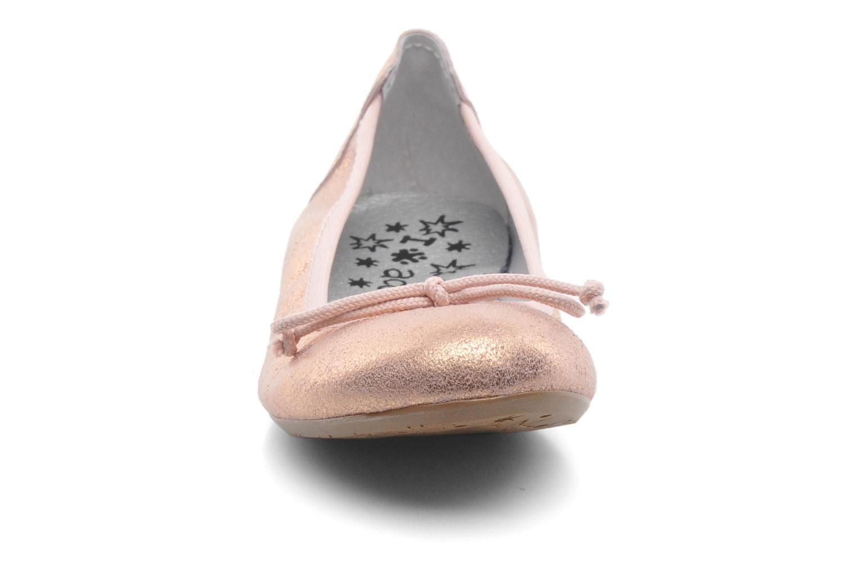 Ballerines Acebo's Camelia Rose vue portées chaussures