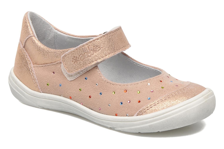 Ballerinas Acebo's Peony rosa detaillierte ansicht/modell