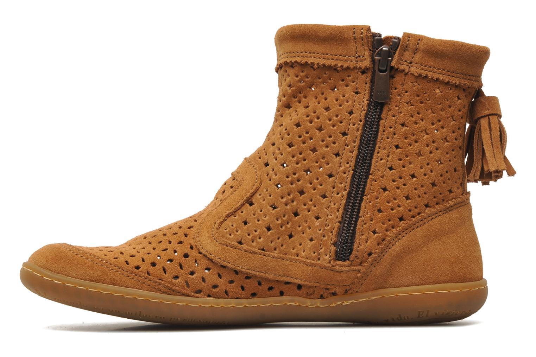 Bottines et boots El Naturalista El Viajero N262 W Marron vue face