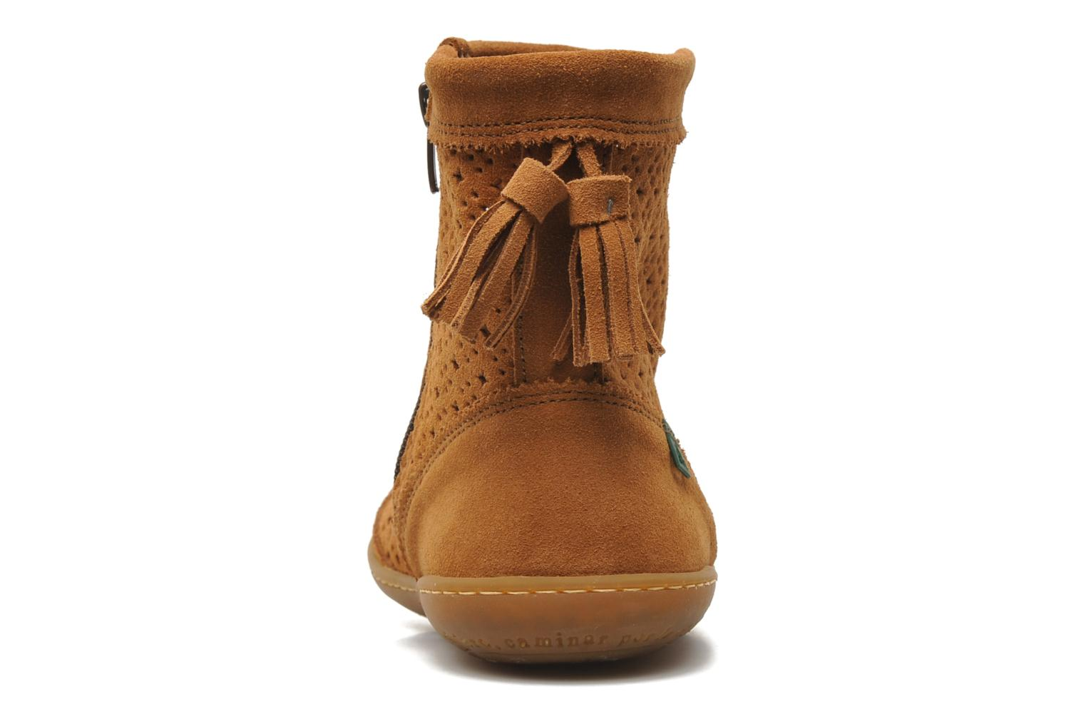 Ankle boots El Naturalista El Viajero N262 W Brown view from the right