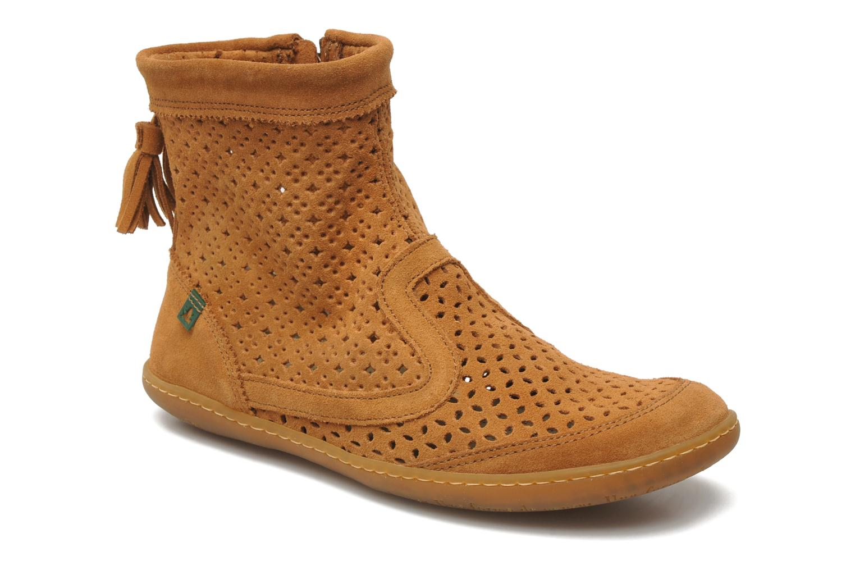 Ankle boots El Naturalista El Viajero N262 W Brown detailed view/ Pair view