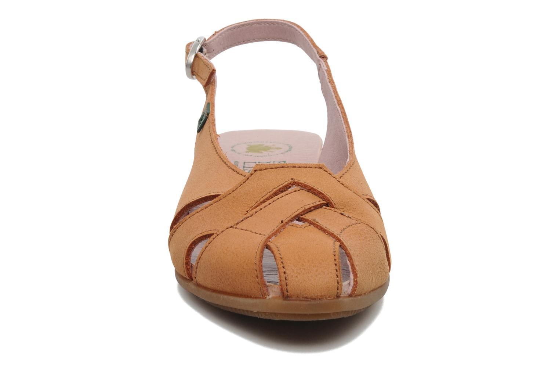 Sandales et nu-pieds El Naturalista Stella 031 Orange vue portées chaussures