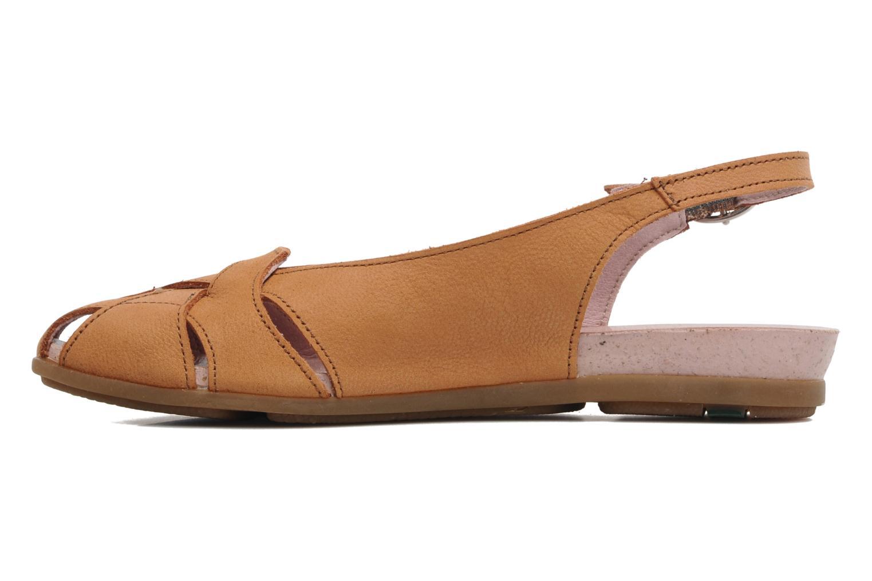 Sandales et nu-pieds El Naturalista Stella 031 Orange vue face