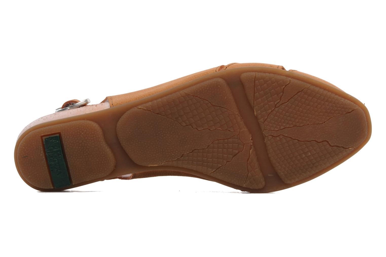 Sandales et nu-pieds El Naturalista Stella 031 Orange vue haut
