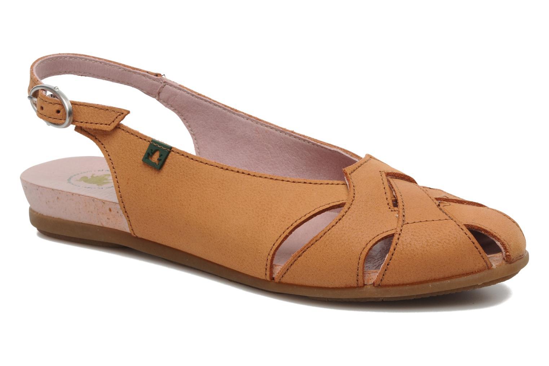 Sandales et nu-pieds El Naturalista Stella 031 Orange vue détail/paire