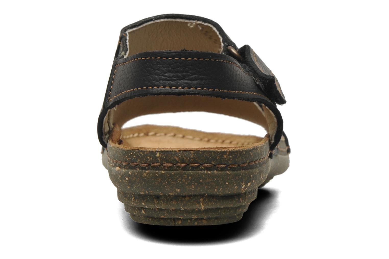 Sandales et nu-pieds El Naturalista Torcal N309 Noir vue droite