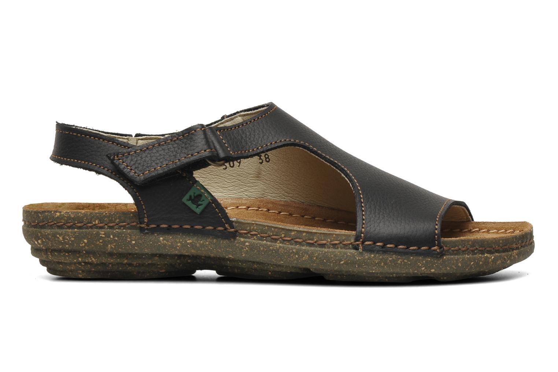 Sandales et nu-pieds El Naturalista Torcal N309 Noir vue derrière