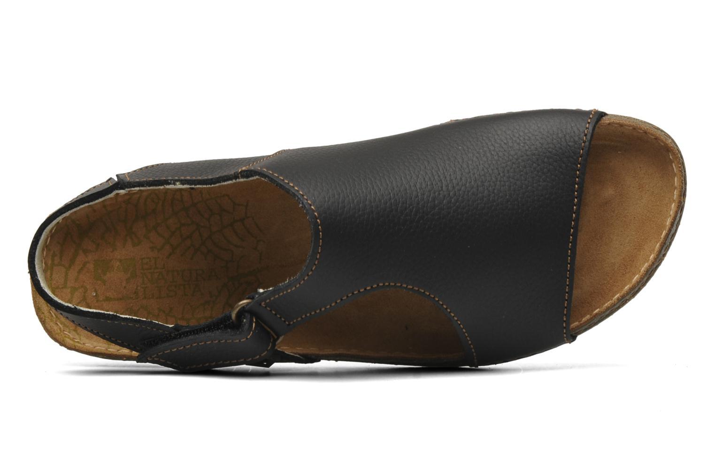 Sandales et nu-pieds El Naturalista Torcal N309 Noir vue gauche