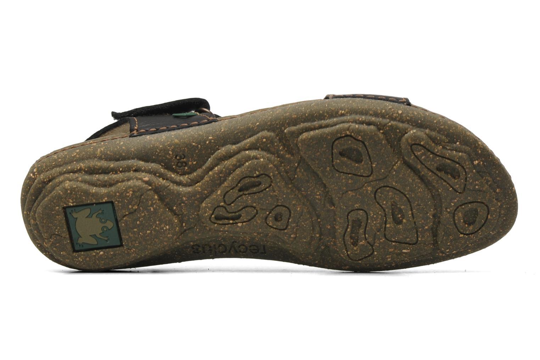 Sandales et nu-pieds El Naturalista Torcal N309 Noir vue haut