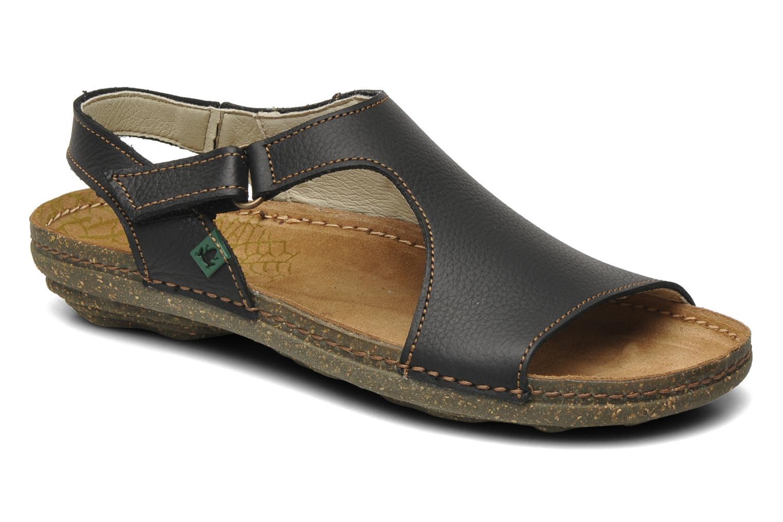Sandales et nu-pieds El Naturalista Torcal N309 Noir vue détail/paire