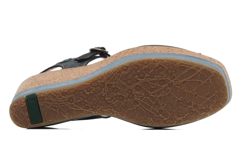 Sandales et nu-pieds El Naturalista Anura N591 Bleu vue haut