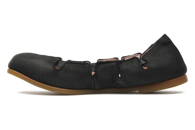 Ballerina's El Naturalista Croche N961 Zwart voorkant