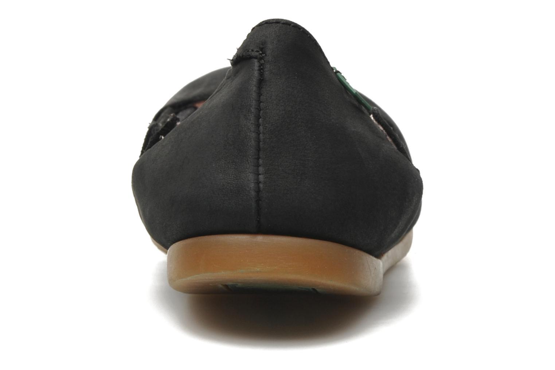 Ballerines El Naturalista Croche N961 Noir vue droite