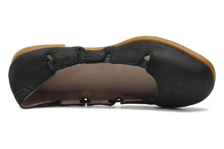 Ballerines El Naturalista Croche N961 Noir vue gauche