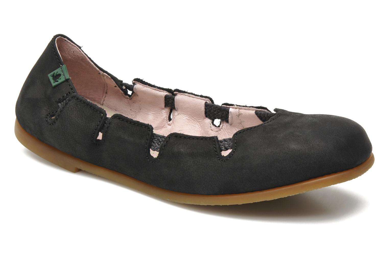 Los últimos zapatos de hombre y mujer El Naturalista Croche N961 (Negro) - Bailarinas en Más cómodo