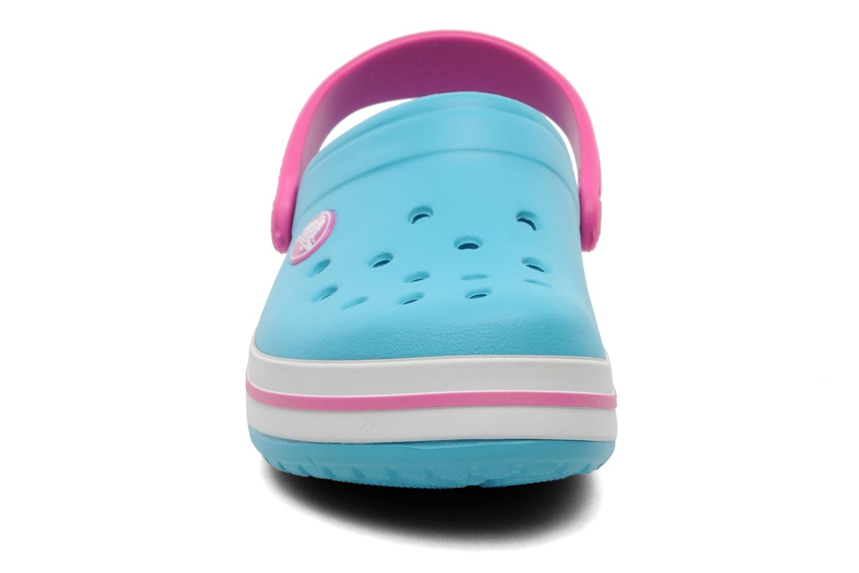 Sandales et nu-pieds Crocs Crocband Kids Power Pack Bleu vue portées chaussures