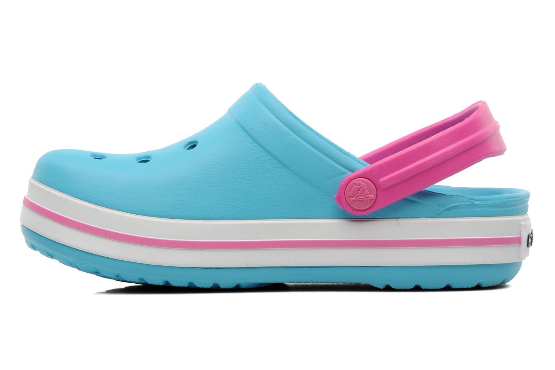 Sandales et nu-pieds Crocs Crocband Kids Power Pack Bleu vue face