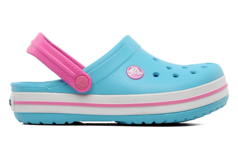 Sandales et nu-pieds Crocs Crocband Kids Power Pack Bleu vue derrière
