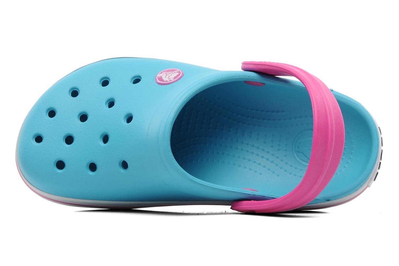 Sandales et nu-pieds Crocs Crocband Kids Power Pack Bleu vue gauche