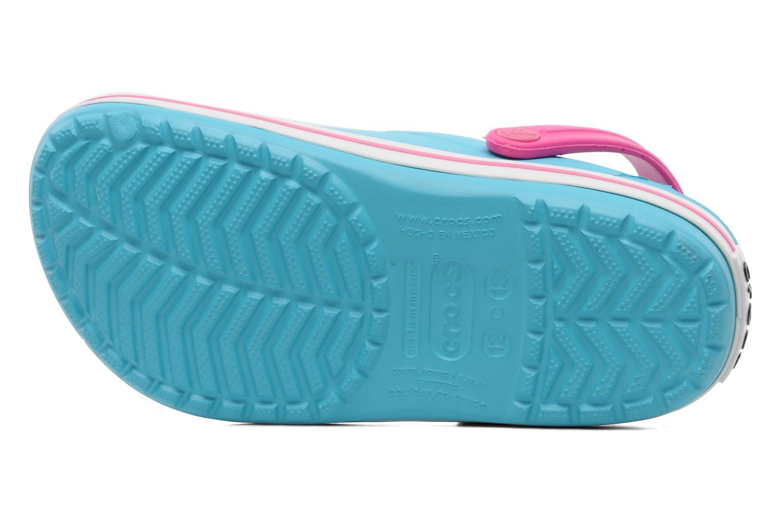 Sandales et nu-pieds Crocs Crocband Kids Power Pack Bleu vue haut