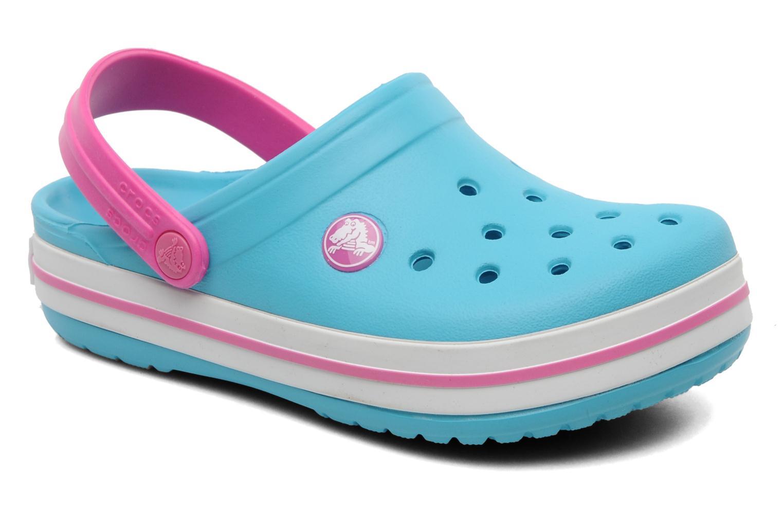 Sandales et nu-pieds Crocs Crocband Kids Power Pack Bleu vue détail/paire