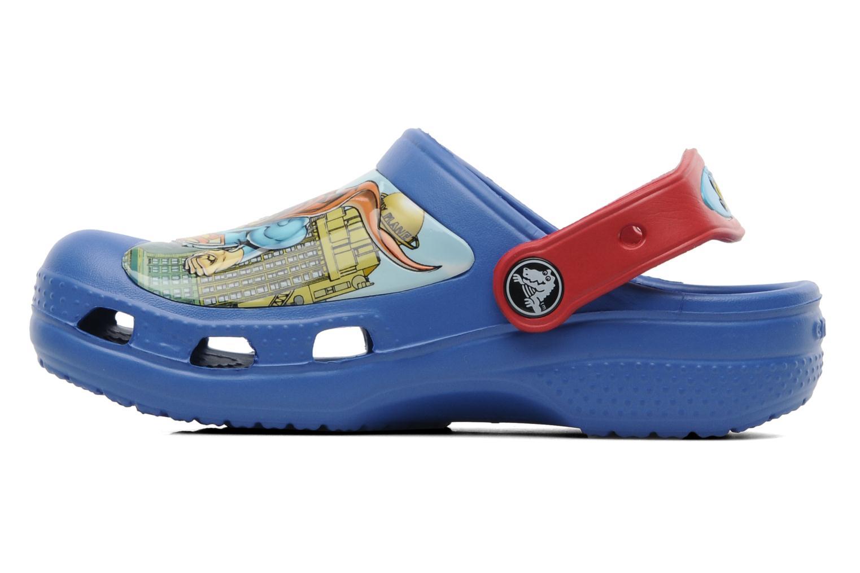Sandalen Crocs CC Superman Clog Boys blau ansicht von vorne