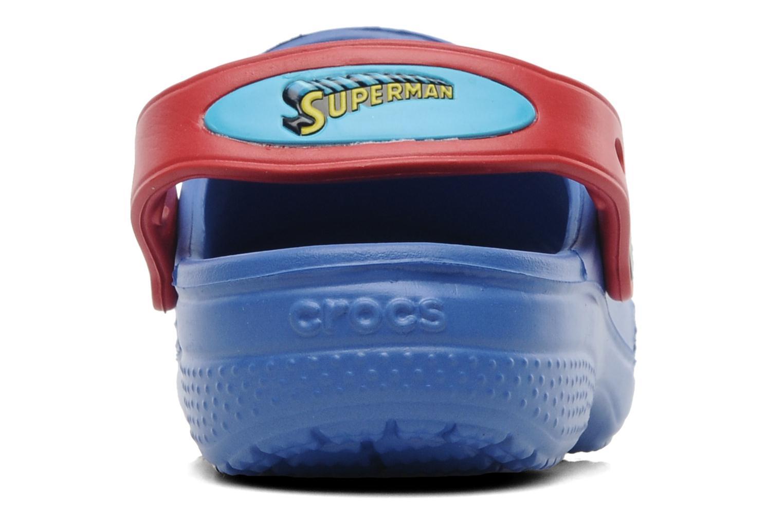 Sandales et nu-pieds Crocs CC Superman Clog Boys Bleu vue droite