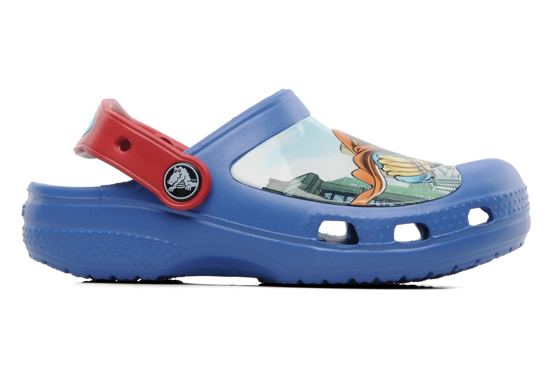 Sandales et nu-pieds Crocs CC Superman Clog Boys Bleu vue derrière