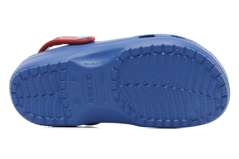 Sandales et nu-pieds Crocs CC Superman Clog Boys Bleu vue haut