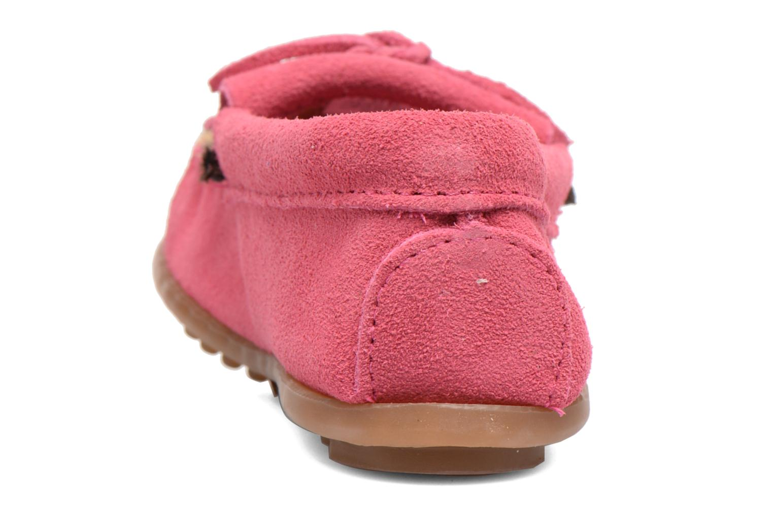 Loafers Minnetonka Leopard Kilty Moc G Pink view from the right