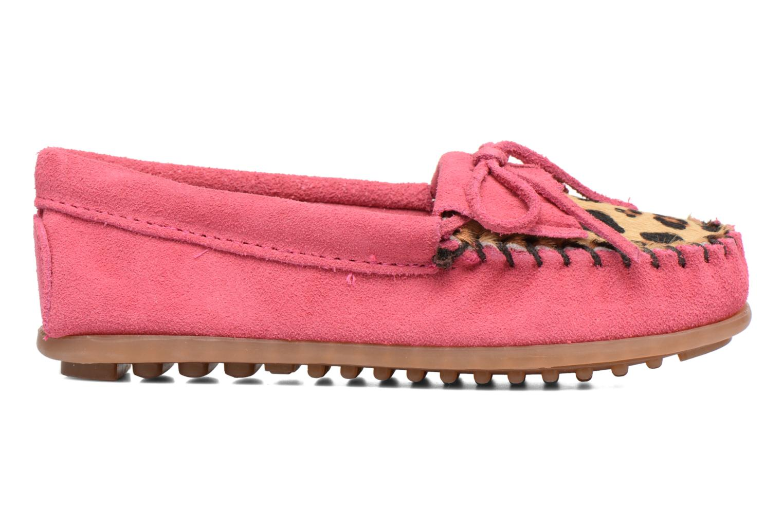 Loafers Minnetonka Leopard Kilty Moc G Pink se bagfra