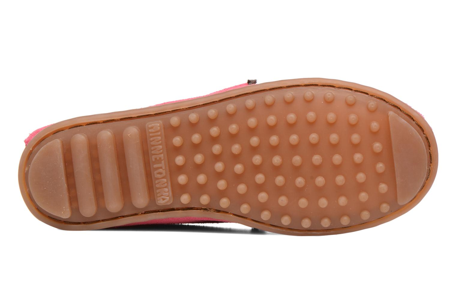 Loafers Minnetonka Leopard Kilty Moc G Pink view from above