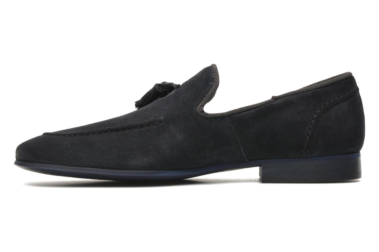 Mocassins Marvin&Co Nicapone Blauw voorkant