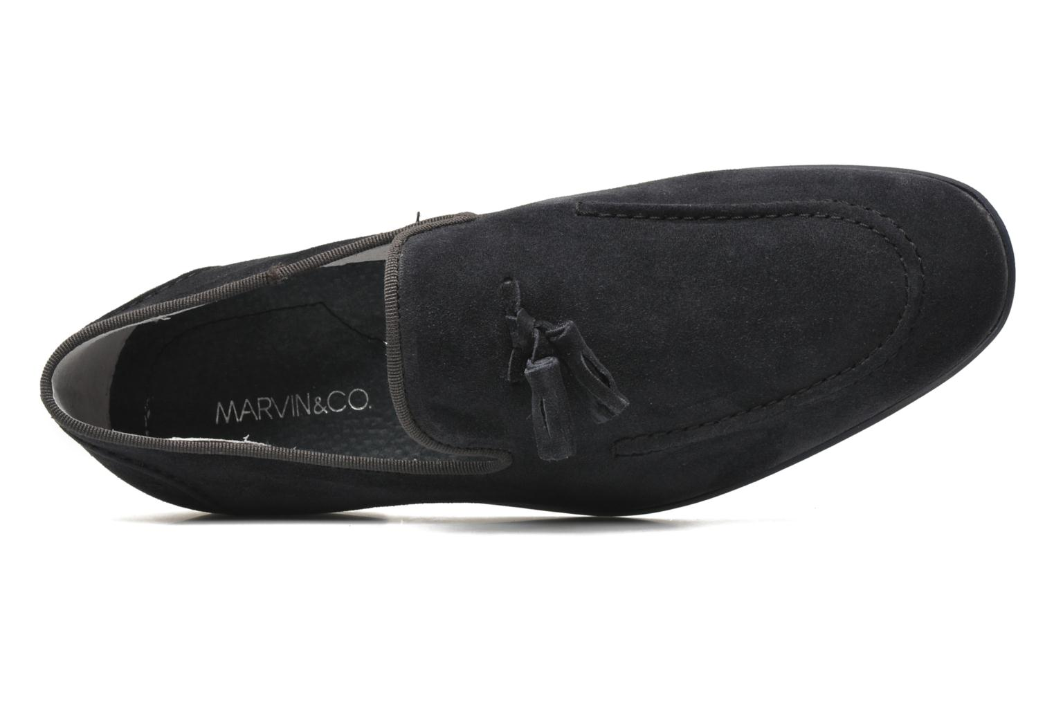Mocassins Marvin&Co Nicapone Blauw links