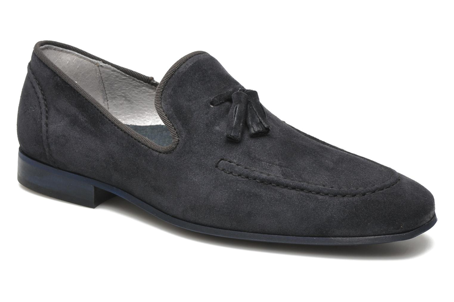 Mocassins Marvin&Co Nicapone Blauw detail