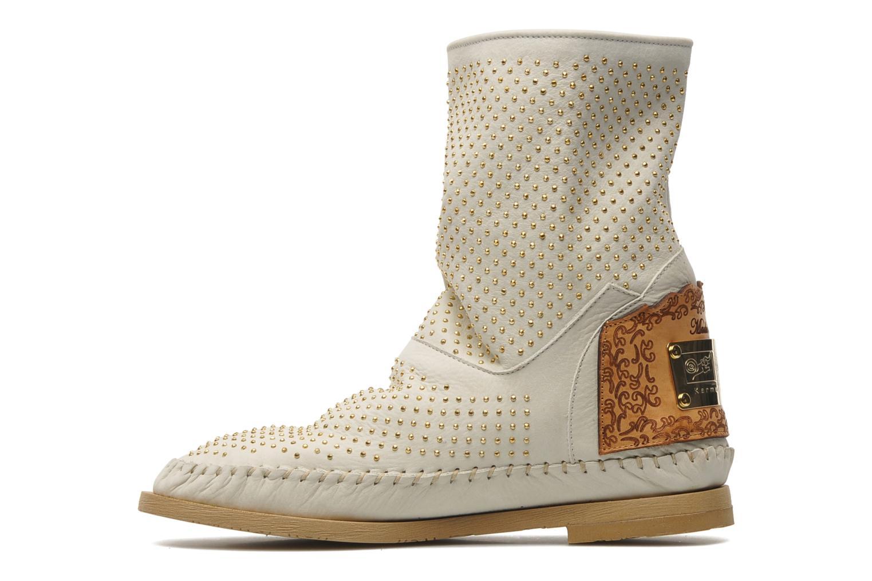 Boots en enkellaarsjes Karma of Charme Diamonds Gold Beige voorkant