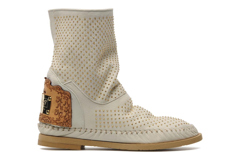 Boots en enkellaarsjes Karma of Charme Diamonds Gold Beige achterkant