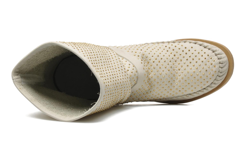 Boots en enkellaarsjes Karma of Charme Diamonds Gold Beige links