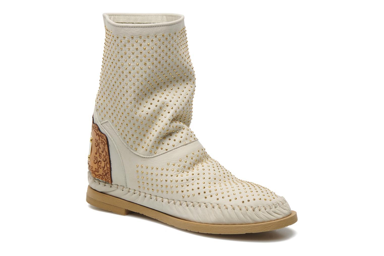 Boots en enkellaarsjes Karma of Charme Diamonds Gold Beige detail
