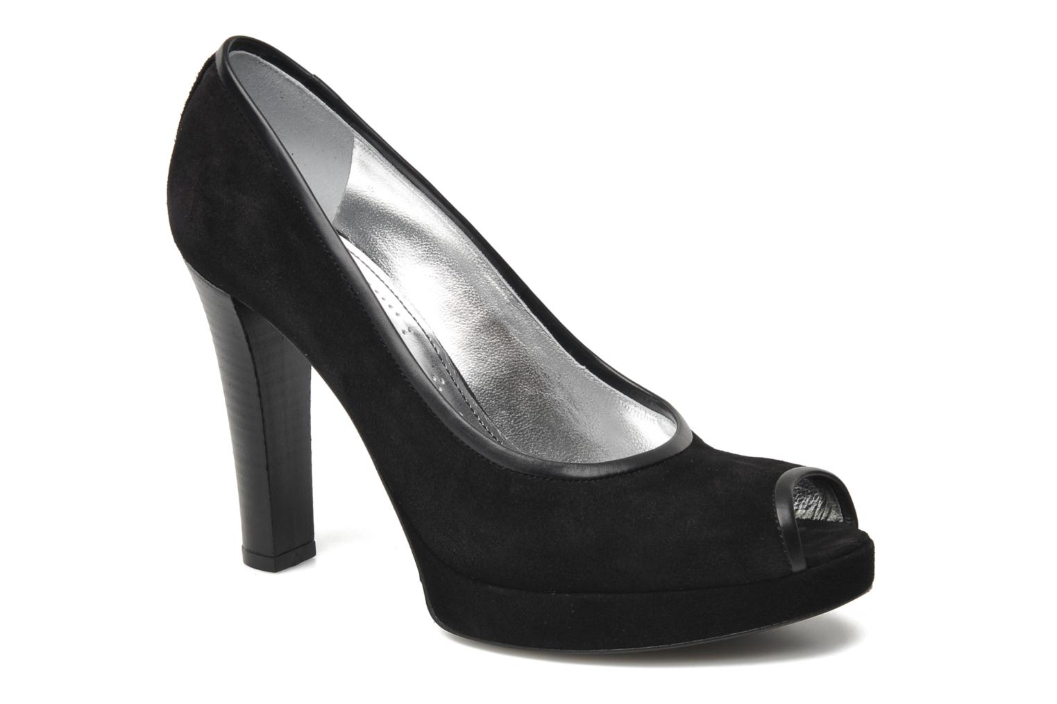 Juke 7 Pump Open Toe sonia noir