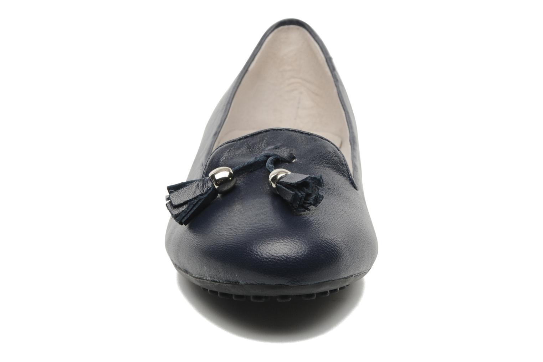 Mocassins Mac Douglas SLEEPERS Réganne Bleu vue portées chaussures