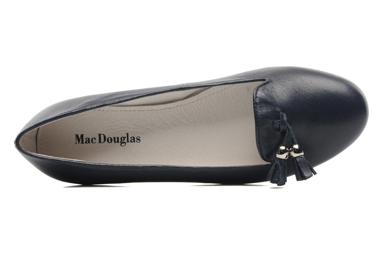 Mocassins Mac Douglas SLEEPERS Réganne Bleu vue gauche