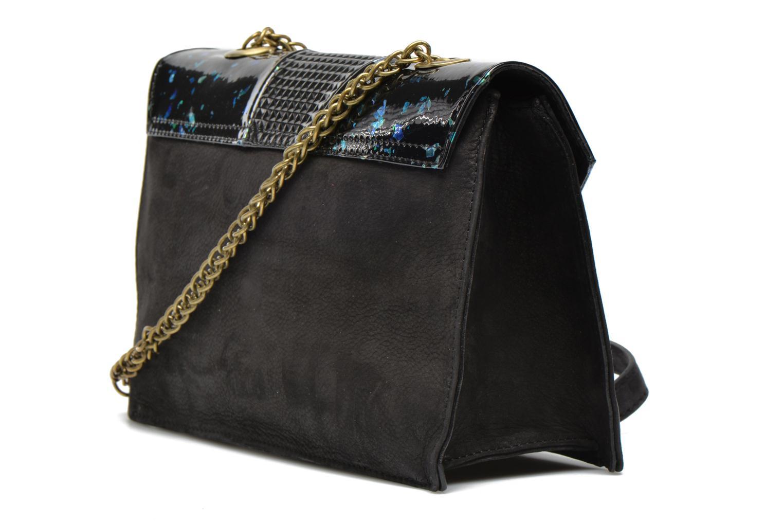Handtaschen Mohekann Odyssée schwarz ansicht von rechts