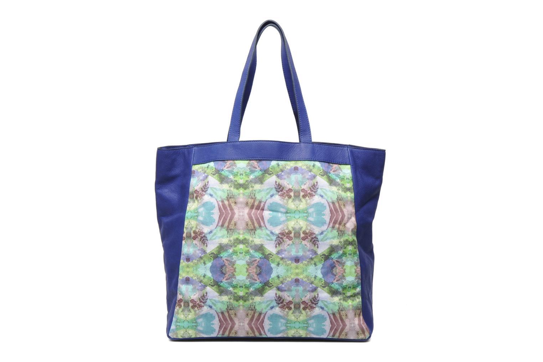 Handtaschen Mohekann Gimmick blau ansicht von vorne