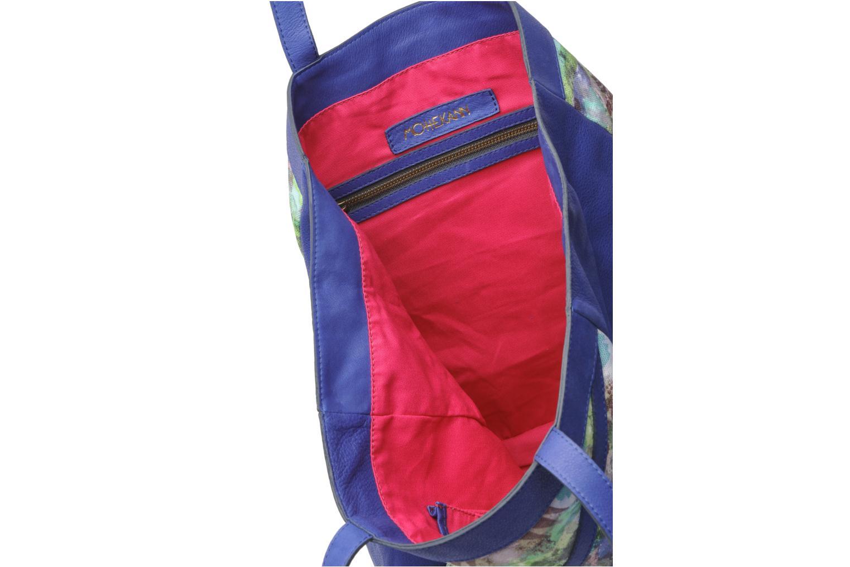 Handtaschen Mohekann Gimmick blau ansicht von hinten