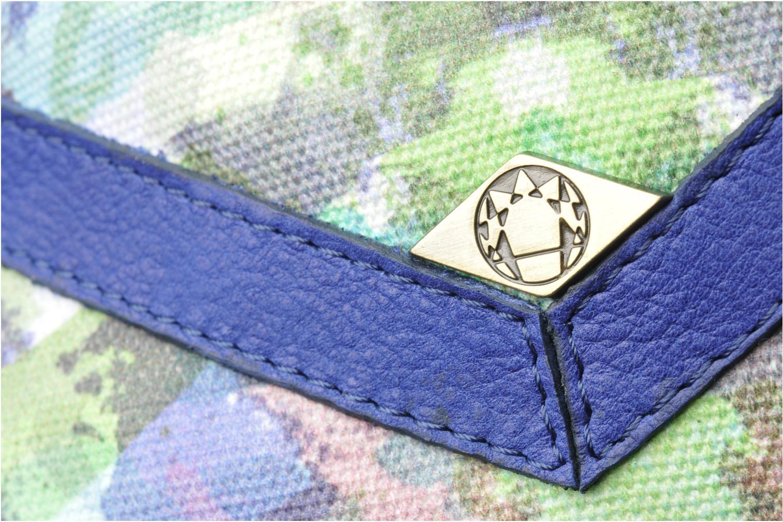 Handtaschen Mohekann Gimmick blau ansicht von links