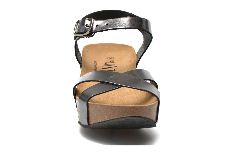 Sandales et nu-pieds Plakton So fine Argent vue portées chaussures