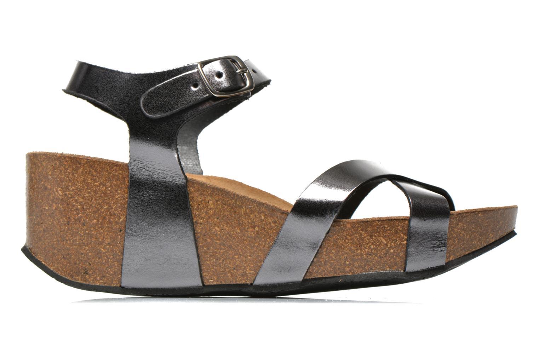 Sandales et nu-pieds Plakton So fine Argent vue derrière