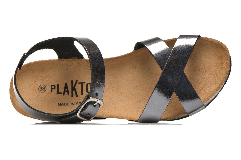Sandales et nu-pieds Plakton So fine Argent vue gauche