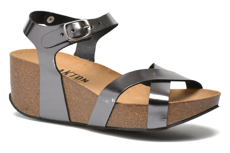 Sandales et nu-pieds Plakton So fine Argent vue détail/paire